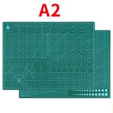 A2A3A4 PVC kesme Mat Pad kesme tahtası Patchwork dikiş aracı DIY deri el sanatları çalışma aleti seti çift taraflı ped taban plakası