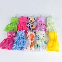 10 pcs/set 30 cm girl dolls dress fashion short skirt toys doll clothes accessories children girls gifts