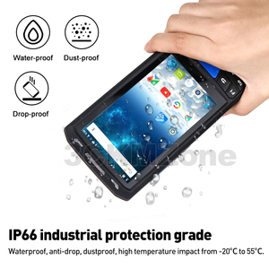 Image 3 - Android 8.1 Industrial Rugged PDA Handheld POS Terminal Laser Barcode Scanner Support Wireless WiFi 4G BT for Warehouse Express