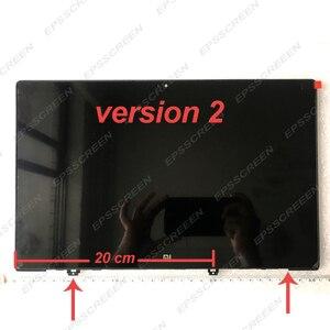 Image 4 - シャオ mi mi ノートブック空気 ips LQ133M1JW15 N133HCE GP1 LTN133HL09 13.3 「 lcd led スクリーン表示マトリックスガラスアセンブリ薄型フレーム