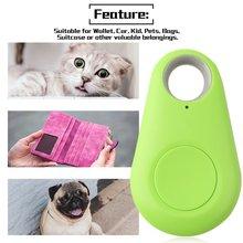 Bluetooth Locator Mini Anti-lost Tag Alarm Wallet Key Pet Dog Finder Pocket 4.0 GPS Smart Tracker