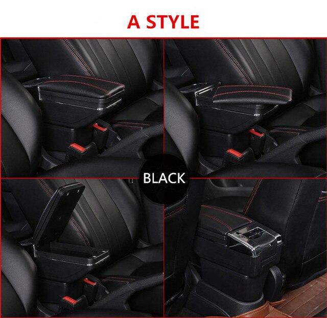 Фото автомобильный подлокотник для renault clio 4 iv автомобильные
