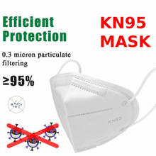 masques mascaras fast shipping 100Pcs maskn9n95mask-kids Reusable mask-n95 kn95-maskes Respirator ffp3mask Facemask Mascarillas(China)
