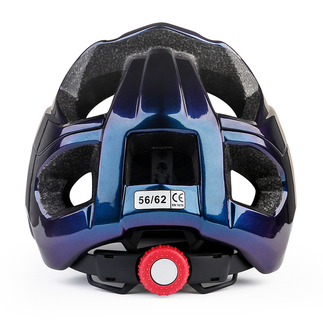 Batfox capacete de bicicleta estrada mountain ciclismo capacetes integralmente moldado ce mtb com viseira de sol das mulheres dos homens ultraleve capacete da bicicleta 5