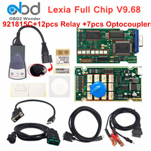 V9.68 lexia3 completo chip 921815c lexia 3 pp2000 diagbox v7.83 scanner de diagnóstico do carro para peugeot para citroen carro Lexia-3 ferramenta automóvel