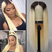 Длинный светлый парик dlme для черных женщин термостойкие волосы