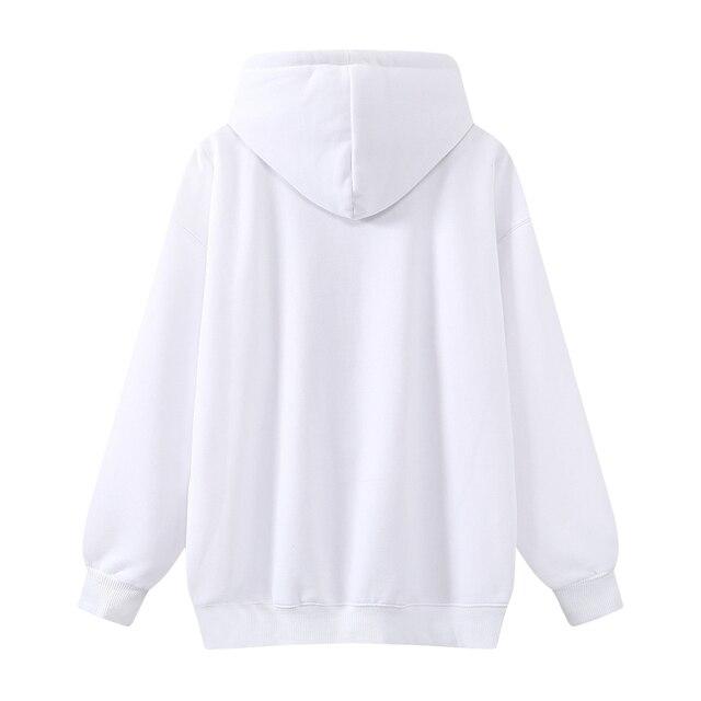 Oversize girls stylish cartoon print hoodies 2020 autumn fashion ladies chic hoodies female casual pullovers streetwear women 2