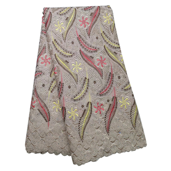New Arrival Nigerian George Lace Fabrics 2020 African French Voile Beaded High Quality For Wedding Party Dress