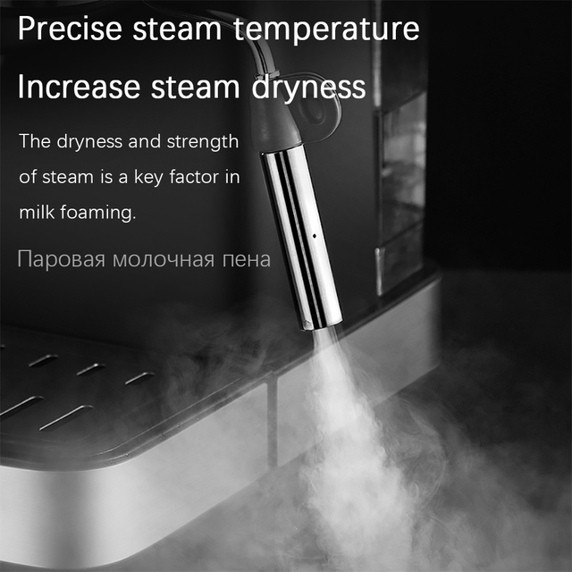 Espresso Electric Coffee Machine Coffee Maker Electric-Horn Cappuccino Capuchinator for Kitchen Household-Appliances Sonifer 3