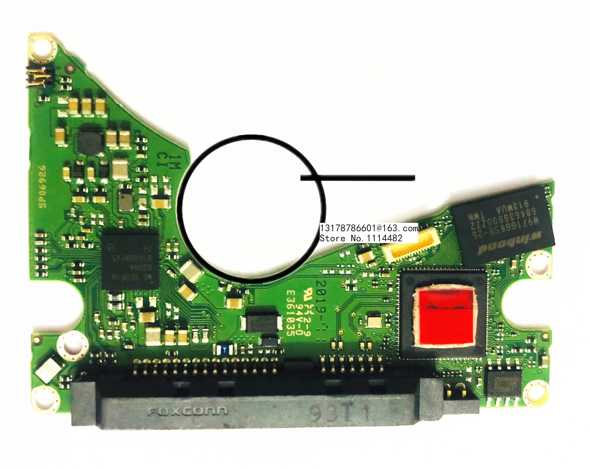 2060 800022 002 REV P1  100% Original Hard Disk Board Mobile Good Test PCB Circuit Board  2060 800022 002 REV P1