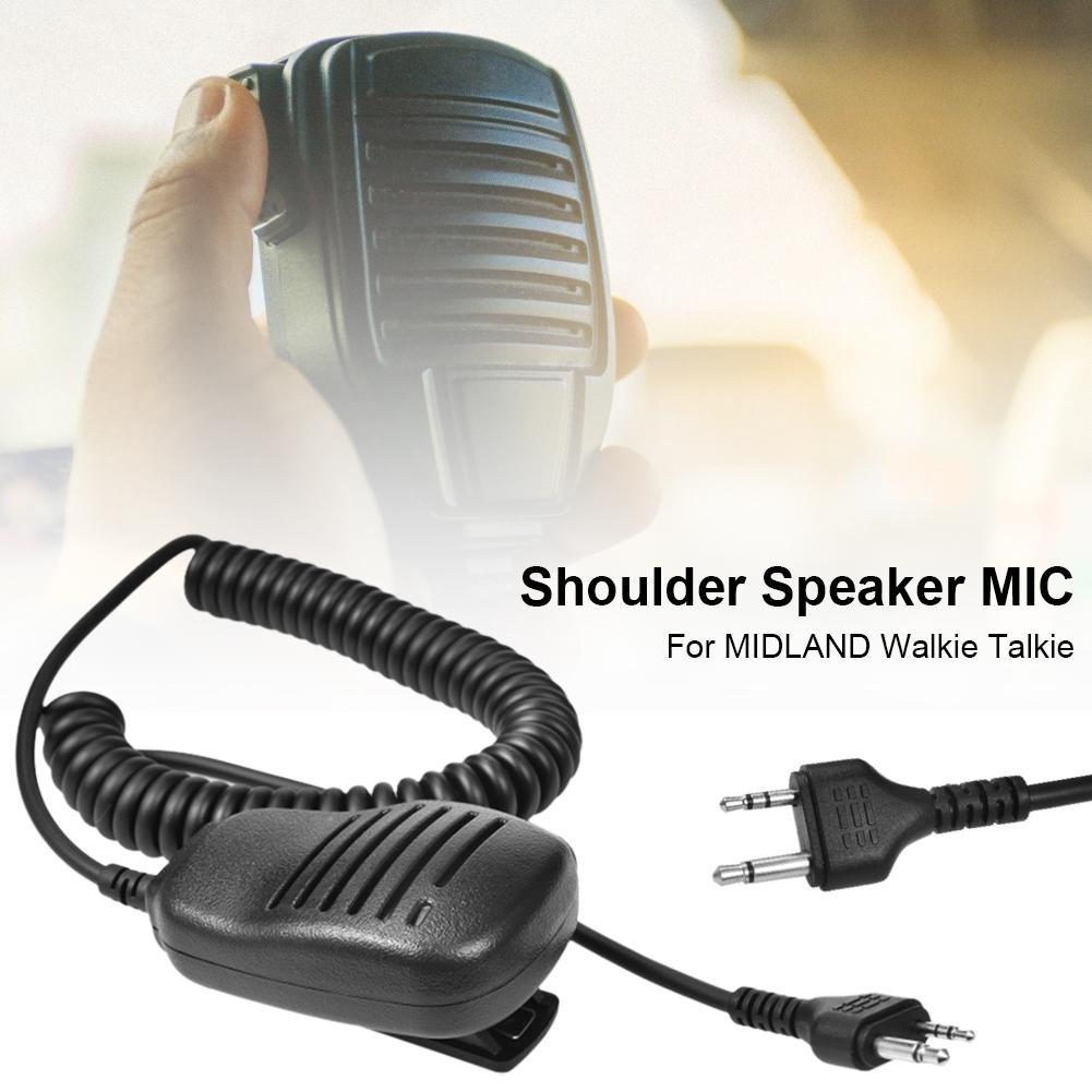 PTT Shoulder Speaker Microphone For GXT Walkie Talkie G6 / G7 / G8 / G9 GXT550 GXT650 LXT80 Walkie Talkie Ham Radio Mic