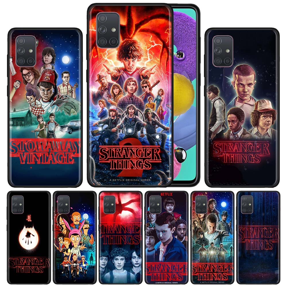 stranger things Phone Case for Samsung Galaxy A21S A51 A71 A50 A50s A70 A70s A10 A20e A20s A30 A40 Silicon Cases Cover