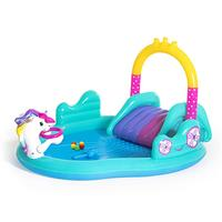 Inflatable Play Center Outdoor Inflatable Wading Pool Courtyard Inflatable Water Park For Boys Girls Water Fun