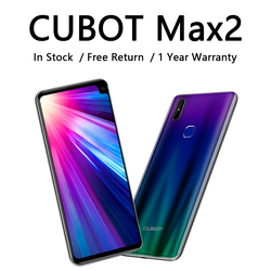 CUBOT Max 2 Smartphone With A Powerful Battery 5000mAh 6.8'' Display 13MP Dual Camera Mobile Phone 4GB+64GB Octa-Core Cellphones