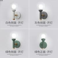 Nordic quarto lâmpada de parede lâmpada de parede moderna lâmpada de parede de madeira da cozinha de jantar restaurante lâmpada lâmpada de parede de vidro|Luminárias de parede| |  -