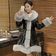 Thick Warm Fur Fox Fur Jacket Hot Sale Winter Women