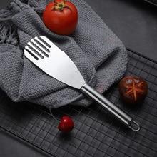 Shovel Slotted Cooking-Supplies Steak Spatula Fish-Turner Frying Pancake Kitchen Stainless-Steel