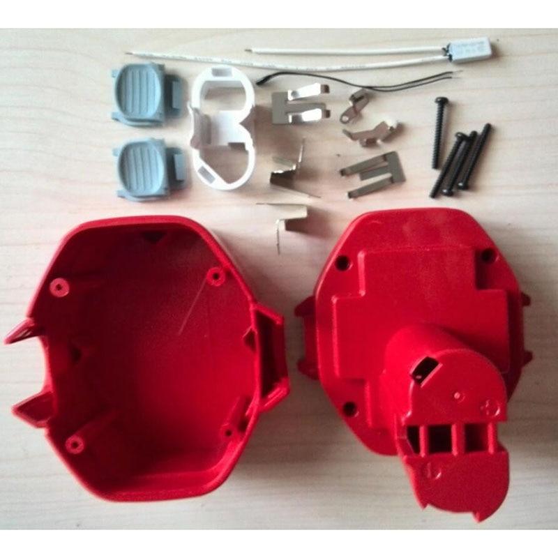 Dawupine 1420 Plastic Case For Makita 14.4V NI-CD NI-MH Battery Cordless Electric Drills PA14 1420 1422 1433 1434 1435F JR140D