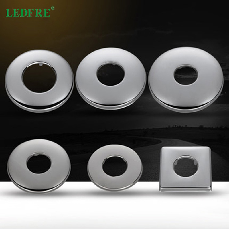LEDFRE  Round Square 304 Stainless Steel Embellish Cover To Hide The Ugly Face Angle Valve Cover Thick Cover Sheet Bell