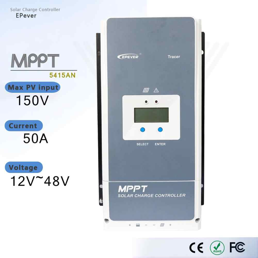 EPEVER MPPT SOLAR CHARGE CONTROLLER Tracer 5420AN 50A PV 200V  12//24//36//48V