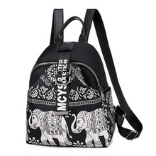 India Thai Style Women Backpack Leisure Ethnic Style High Quality Oxford Packbag Travel Female School Shoulder Back Bag for Girl