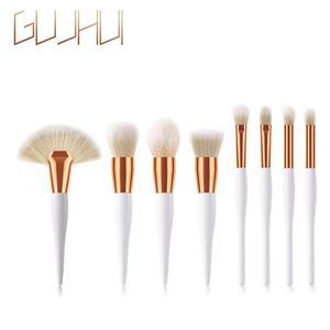 1/8 Pcs Makeup Brush Soft Synthetic Hair Brush Foundation Powder Blush Eyeshadow Brushes Fan Brush Makeup Tools Maquiagem