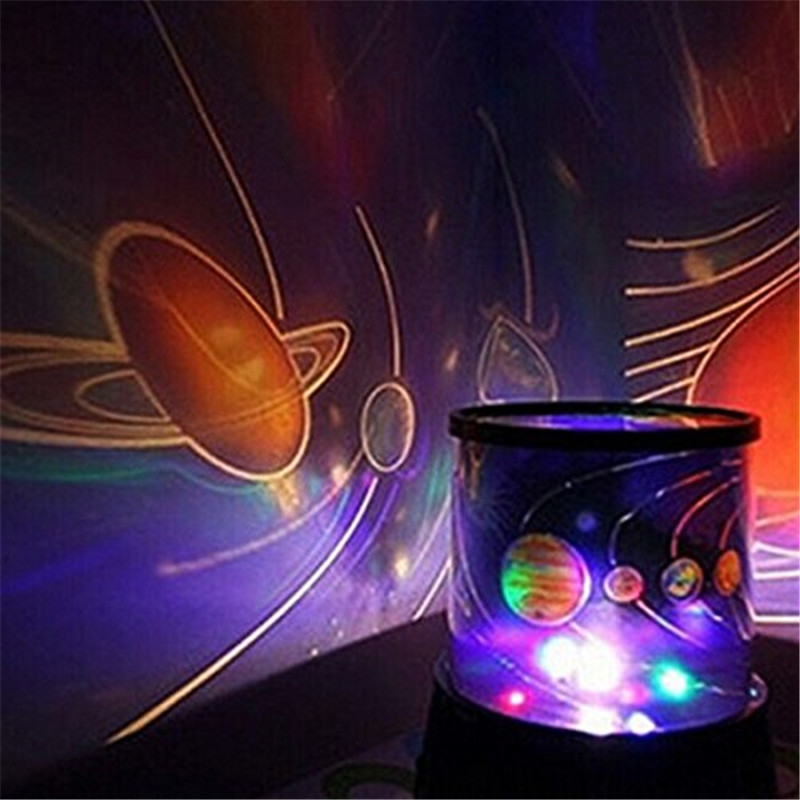 Colorful Romantic Cosmos Star Master LED Light Projector Lamp Night Light Christmas Decoration For Home Party Kids Gift