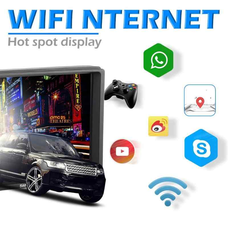 A3 2 Din Android Wifi Gps Fm MP5 Speler 7 Inch Rca Audio-uitgang Aansluitbaar Subwoofer Auto In-Dash stereo Bluetooth