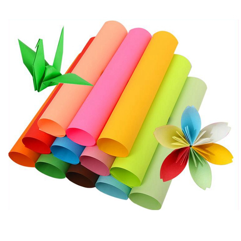 A4 Size Multipurpose Color DIY Creative Handmade Cutting Colored Paper For Students And Office Scissors Paper