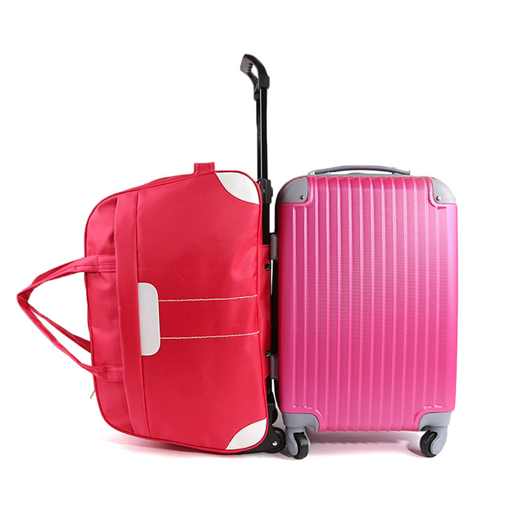 Women's Travel Bag on Wheels Large Men's Traveling Luggage Bags with Wheels Travel Bag Organizer Trip Hand Luggage Bag on Wheels