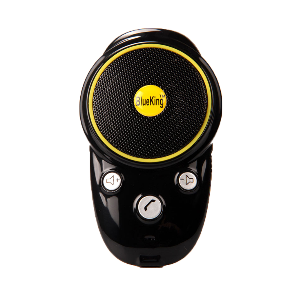 Handsfree Bluetooth Car Kit Sun Visor Speaker Auto Wireless Speakerphone Car Kit For Phone Hands Free 5