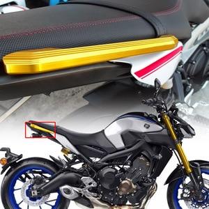 Motorcycle Rear Seat Pillion Passenger Grab Rail Handle Rear Grab Bars for YMAHA MT09 MT 09 MT-09 2014 2015 2016 2017 2018 2019