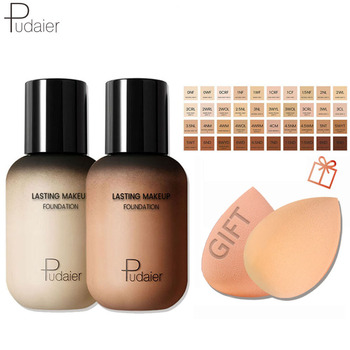 Pudaier Face Foundation Makeup Liquid Foundation Cream Matte Foundation Base Face Concealer Cosmetic Dropshipping Makeup недорого