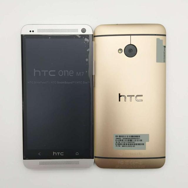 HTC One M7 Refurbished- Original Mobile Phone ONE M7 2GB RAM 16GB ROM Smartphone 4.7 inch Screen Android 5.0 Quad Core phone 3