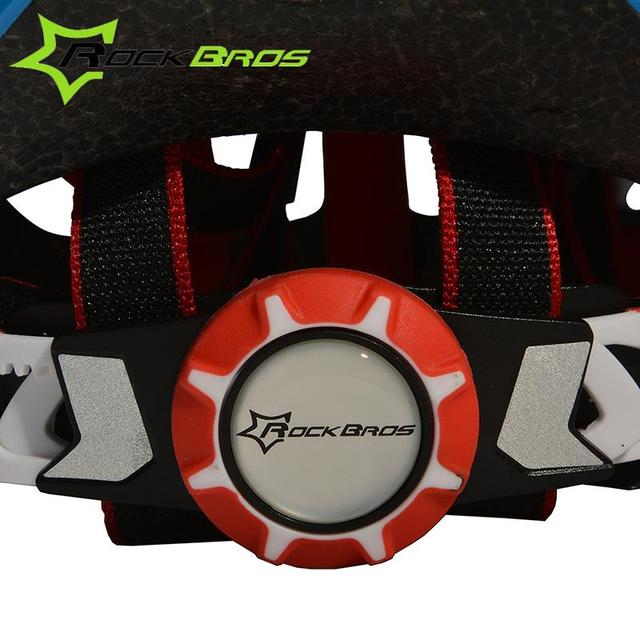 Rockbros pro capacete de ciclismo com viseira ultraleve eps + pc integralmente moldado mtb road bike capacete 28 aberturas capacete de bicicleta 57-62cm 5