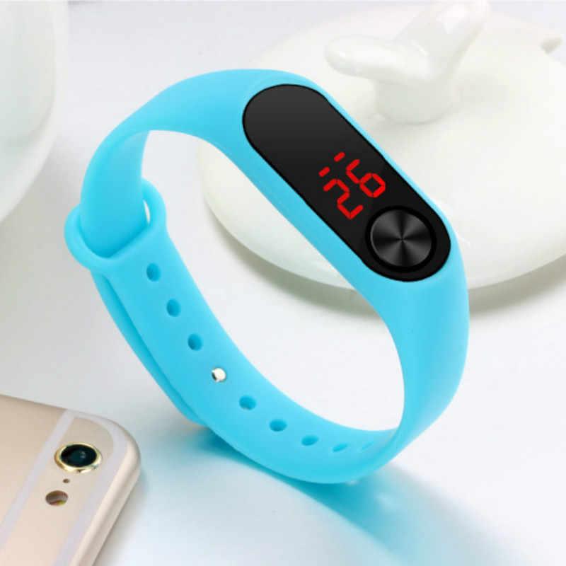 Simple femmes montre main anneau montre LED sport mode électronique montre Reloj deportivo para mujer livraison directe 2019 hommes montres