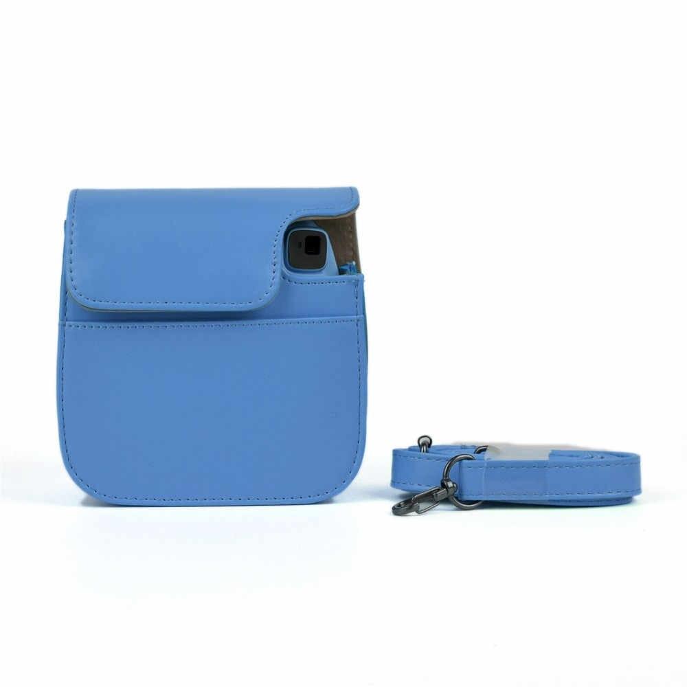Klasik Kulit Penutup Casing Case Kamera untuk Fujifilm Instax Mini 9/Mini 8/8 + Mudah Digunakan, ringan, Konstruksi Elegan