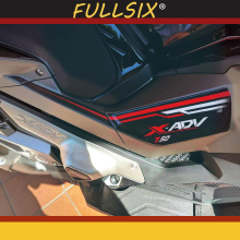 цена на for HONDA XADV x adv 750 x-adv X-ADV 750 Motorcycle 3D Protective front fuel tank Left and right leaf board side sticker