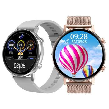 Smart Watch 360*360 HD Full Touch Screen Dual UI Heart Rate Monitor IP67 Waterptoof For Android IOS Phone  Men Women - discount item  5% OFF Smart Electronics