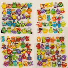 10-50 pçs superzings superthings figuras de ação 3cm super zings caminhão de lixo brinquedo coleta de lixo brinquedos modelo defeituoso