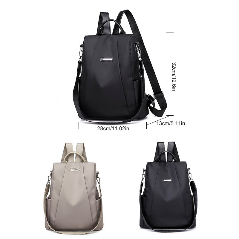 H1e75c9f30f8a48cf8fd280a330871d75q - Women Fashion Backpack Oxford Multifunction Bags Female Anti-theft Casual Backpacks Girl's Elegant Mochila For School Work