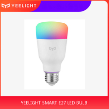 XIAO Mi Yeelight Smart LED Bulb Colorful 800 Lumens 10W E27 /E26 Lemon Smart Lamp For Mi Home App White/RGB Option