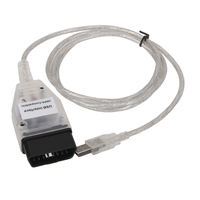 Ediabas INPA K+DCAN USB Interface +20 to 16Pin OBD2 Diagnostic Cable For BMW