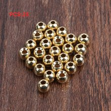 цена на fly tying beads 25pcs Tungsten Slotted Fly Tying Head Beads Nymph Head Ball Beads Fly Tying Materials slotted tungsten beads fly