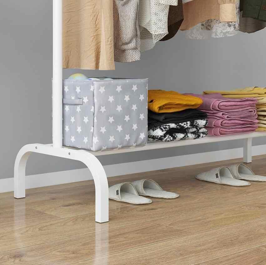 Металлическая напольная вешалка для пальто, стеллаж для хранения, креативная мебель для спальни, гостиной