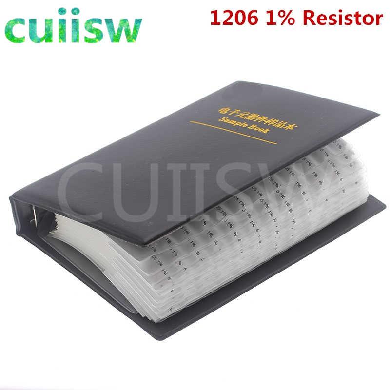 4250PCS SMD Resistor Sample Book 0R ~ 10M Toleranz 170 Werte Resistors Kit