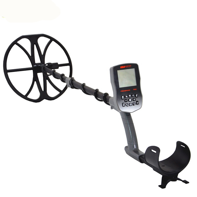 Free Shipping Full waterproof underground gold metal detector with wireless headphones and 12