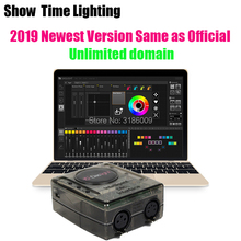 Powerful mini dmx controller Daslight DVC4 DMX Software stage light controller DJ Stage Light USB Lighting Interface 10pcs lot usb dmx controller usb martin lightjockey software 5 pin dj controller usb dmx interface disco lighting console