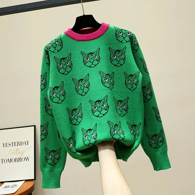 Women Sweater Autumn Winter Female Casual Pullover Knitted Tops