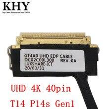 Ban Đầu UHD 4K Cho ThinkPad T14 P14s Gen1 Series FRU 5C10Z23850 DC02C00L300 DC02C00L310 DC02C00L320